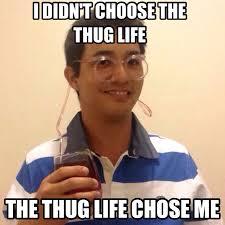 Thug Life Meme - thug life meme kinked