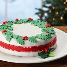 Christmas Cakes Decorations by Christmas Cake Ideas Decorating U2013 Decoration Image Idea