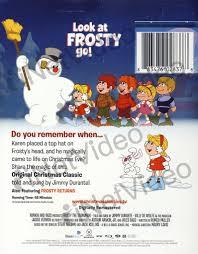 frosty snowman christmas classic blu ray blu ray movie