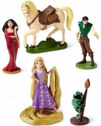 tangled cake topper slash prices on 5 pcs disney rapunzel tangled pascal figure