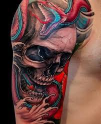 35 amazing skull tattoos for and tattooton tattoos