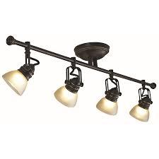 4 light led track lighting lighting tracks for kitchens home depot bronze track lighting