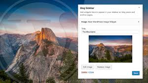Wordpress Hosting Title How To Add An Image To Your Wordpress Sidebar 3 Ways
