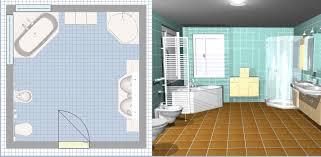 faire une cuisine en 3d des logiciels pour faire le plan de sa salle de bains en 3d