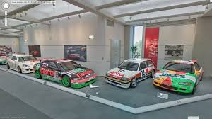 japanese street race cars museums tour the honda collection hall on google street view