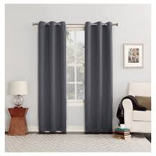 sun zero kenneth blackout energy efficient grommet curtain panel