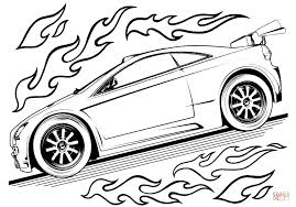 wheels car coloring free printable coloring pages