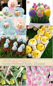 Chicks For Easter Decorations by Cake Pops For An Easter Baby Shower