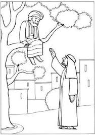 Good Samaritan Story From Jesus Coloring Page Good Samaritan Zacchaeus Coloring Page
