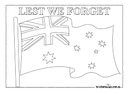 anzac day colouring pages u2022 brisbane kids
