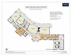 Graceland Floor Plan by 2616 Graceland Ave San Carlos Ca 94070 Mls Ml81652366 Movoto Com