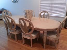 Henredon Dining Room Table by Dining Room Blond Wood Dining Table Blonde Dining Table And
