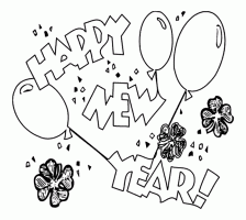 happy new year preschool coloring pages free coloring pages happy new year 2014 for preschoolers coloring