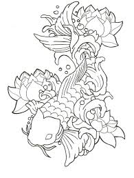 tatto abstrak black koi fish tattoo tattoomagz