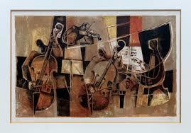 musique de chambre musique de chambre georges dayez lithographie orchestre de cannes