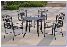 Wrought Iron Patio Chairs Wrought Iron Patio Set Costco Patios Home Decorating Ideas