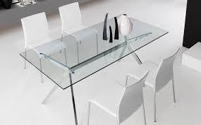 calligaris cs 4042 rc 130 g seven glass dining table italy neo more views