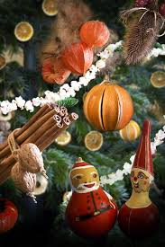 christmas tree decorations made from natural materials u2013 20 ideas