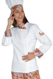 tenu professionnelle cuisine veste chef femme snaps blanc delicious 100 coton
