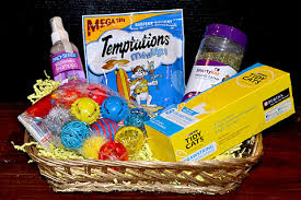 per gift basket cat gift baskets for cats and cat band of cats
