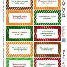 printable thanksgiving joke cards thanksgiving quotes tip junkie