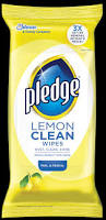 Laminate Floor Shine Restoration Product Pledge Lemon Clean Wipes Pledge