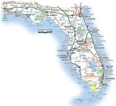 florida highway map florida road map florida backroads travel has 9 of them