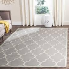 safavieh handmade moroccan dark grey wool geometric rug 8 u00279 x 12