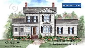 style house plans auburn house plan house plans by garrell associates inc