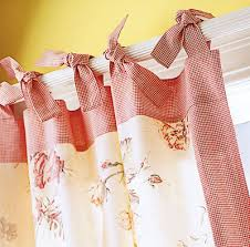 Tie Top Curtains Home Design Tips Window Style File