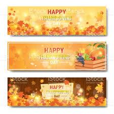 happy thanksgiving day autumn traditional horizontal