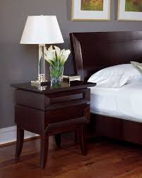 ffh nightstand cherry wood bedroom furniture low profile bed