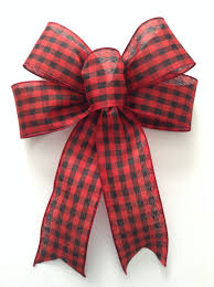 decorative bows christmas plaid bows and black decorative bows