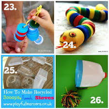 Home Decor Using Recycled Materials Recycled Play Series Diy Baby U0026 Toddler Toys The Empowered