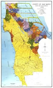 Ca County Map San Mateo County Map San Mateo California U2022 Mappery