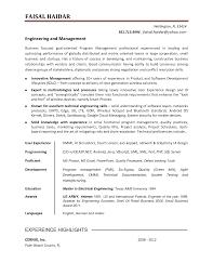 Product Owner Resume Resume Of Vendor Development Manager