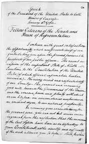 1790 state of the union address