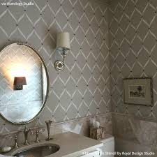 bathroom stencil ideas splendid design inspiration bathroom stencils lovely decoration 10