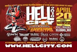 attending artists columbus ohio hell city tattoo festival 2018