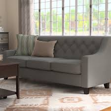 upholstered living room furniture red barrel studio wadsworth modern and contemporary fabric