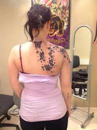 butterfly on shoulder meaning blade design idea for and