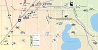 Orlando Area Map by Orlando Maps Florida U S Maps Of Orlando