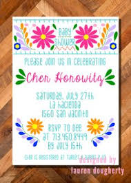 mexican baby shower invitations theruntime