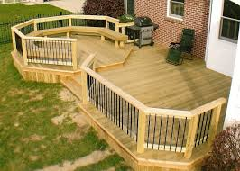 deck ideas backyard deck ideas home round