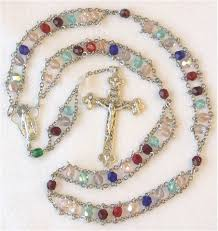 custom rosary personalized mothers ladder rosary unique special custom