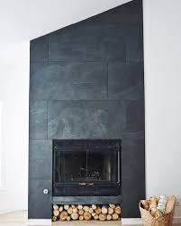 black slate fireplace surround see more today is the perfect day to share our finished fireplace what do you think