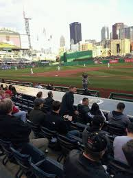 lexus dugout club seats pnc park section 20 home of pittsburgh pirates