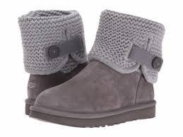 grey womens boots australia ugg australia shaina grey womens boots 5 ebay