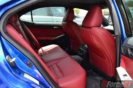 lexus is 200t f sport 2016 lexus is 200t f sport rear seats forcegt com