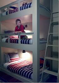 More Bunk Beds 31 Cool And Practical Bunk Beds For More Than Two Digsdigs